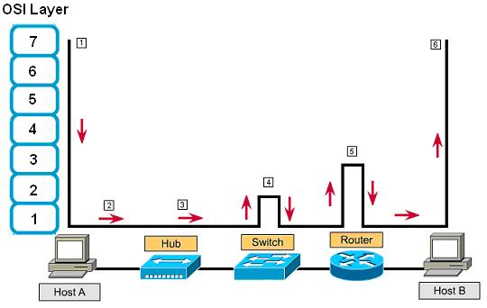Jaringan komputer dasar gambar 16 cara kerja osi layer pada jaringan ccuart Images