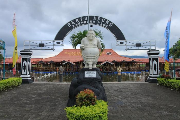 Resto Apung Kampoeng Rawa