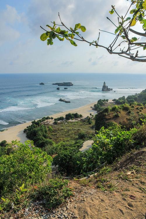 Panorama Pantai Buyutan