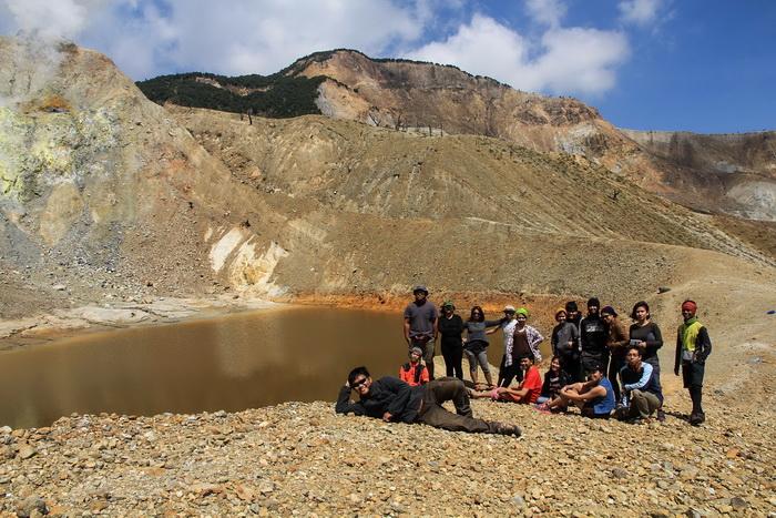 Foto Danau Vulkanik