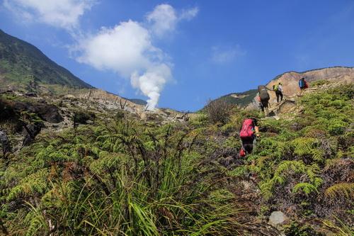 Pemandangan Pendakian