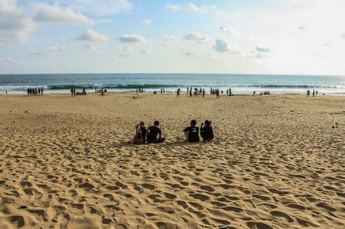 Suasana Pantai Pangumbahan