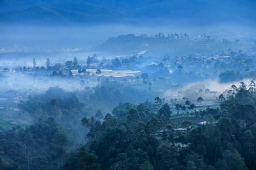 Morning Fog Tebing Keraton