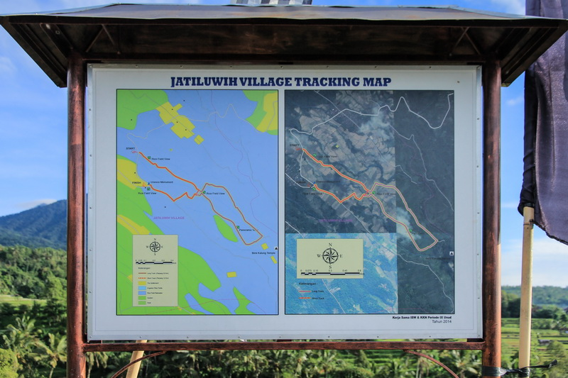 Peta Tracking Jatiluwih