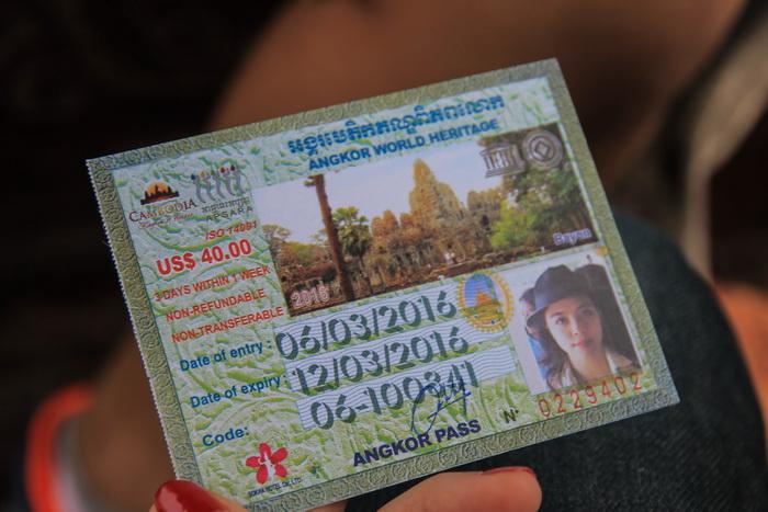 Tiket Angkor Wat